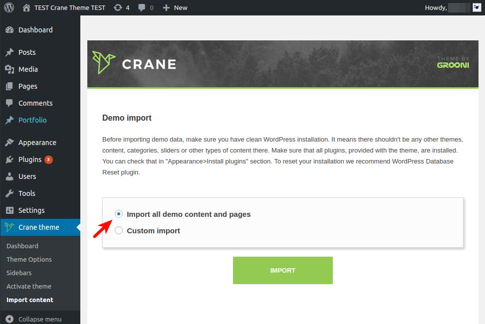 crane-import-page