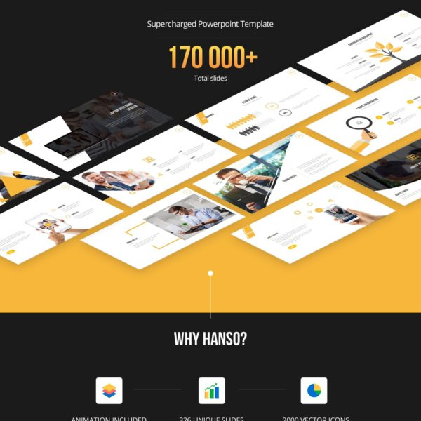 Hanso - Ultimate supercharged Powerpoint Presentation Template