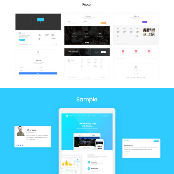 Eclipso Flat UI Kit