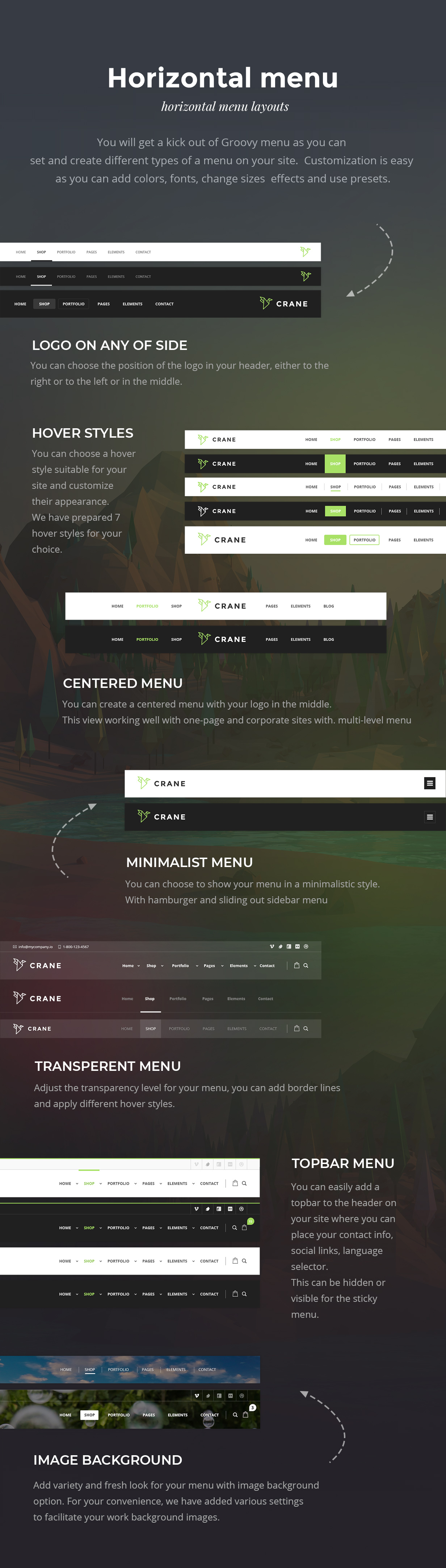 New professional and premium Mega Menu Plugin for WordPress