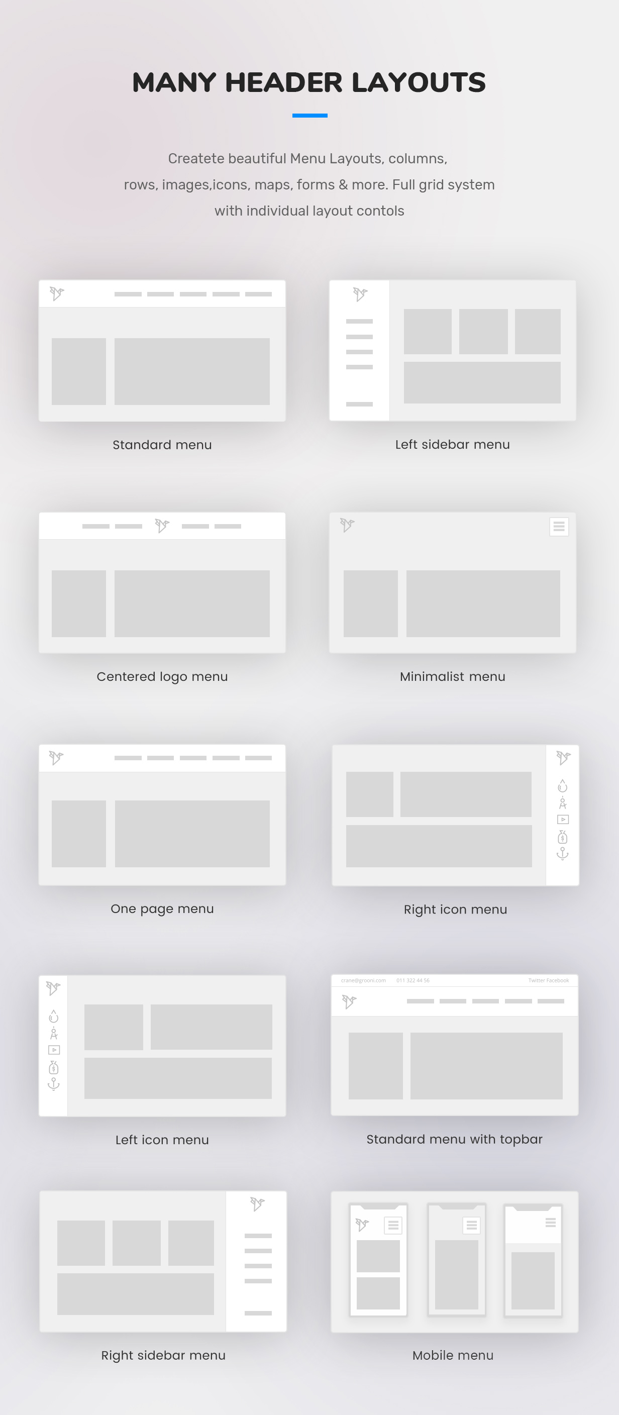 mega menu layouts wordpress plugin